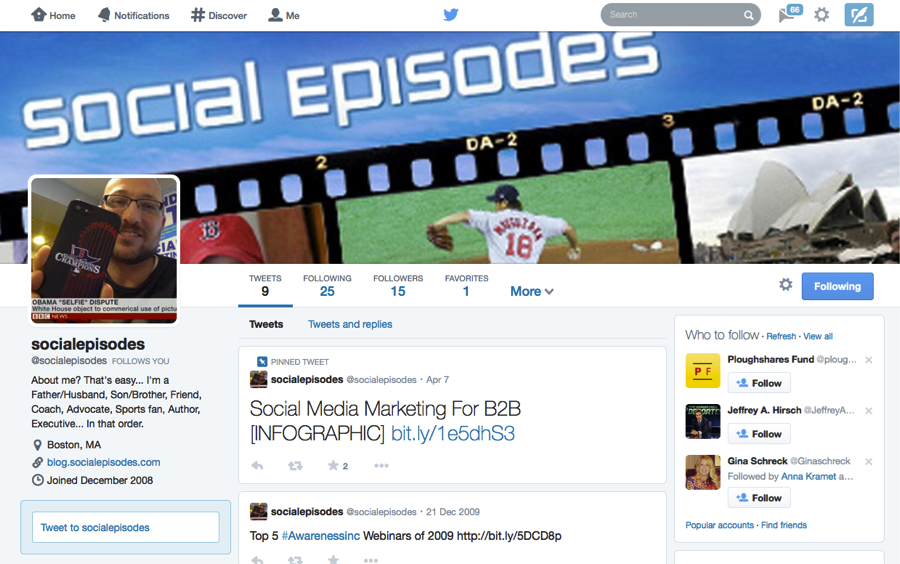 New Twitter Layout April2014